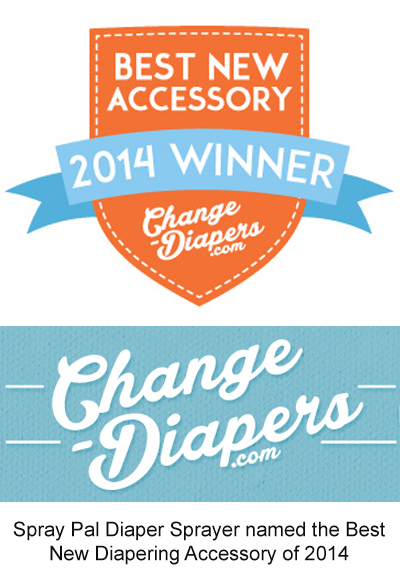 Spray Pal Diaper Sprayer named the Best New Diapering Accessory of 2014